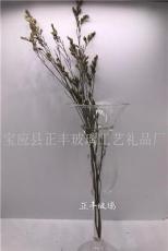 唢呐形状透明花瓶
