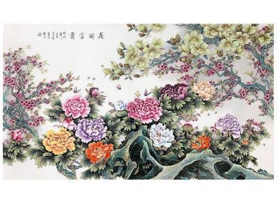 张松茂关门弟子王志远陶瓷壁画酒店家庭装修