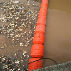 漂浮式拦污网浮筒高强度阻拦系统