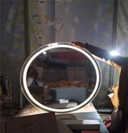廠家專業定制 酒店賓館公寓智能鏡子 衛生間LED燈鏡 帶觸摸開關