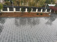 厂家供应自然面青石板黑板岩园林黑色地砖