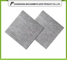 深灰色PVC石塑地板仿水泥找平地板膠健身房專賣店展廳石紋地膠磚