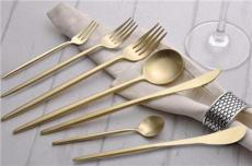 葡萄牙同款不銹鋼刀叉 拉絲全金西餐刀叉 酒店餐飲套裝刀叉