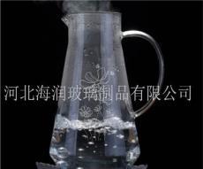 高硼硅耐熱玻璃涼水壺大容量防炸裂明火直燒壺