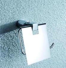 美軒衛浴出口款全銅電鍍方型座紙巾架浴室掛件銅掛件MX7111
