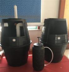 专业生产双瓮漏斗式化粪池
