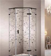 淋浴房夾膠藝術玻璃