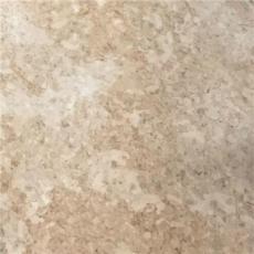 仿水磨石淺棕色PVC片材地板復古做舊地磚紋石塑地板商場通道電梯