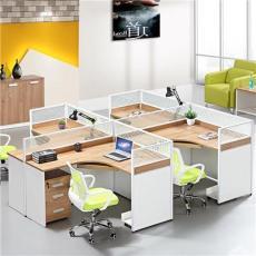 佛山多人位组合办公屏风桌椅