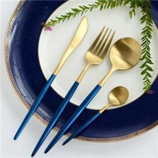 leon里昂不銹鋼西餐餐具 酒店用品刀叉勺 熱銷款刀叉勺