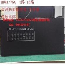 售8路高清画面处理器/1080P画中画/处理器分屏器合成拼接器
