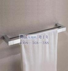 雙層仿古浴巾架 拉絲浴室毛巾置物架衛生間衛浴掛件