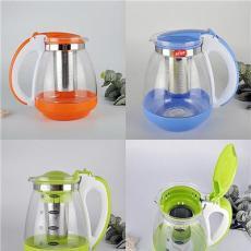 批发无铅玻璃水壶果汁壶茶壶凉水壶