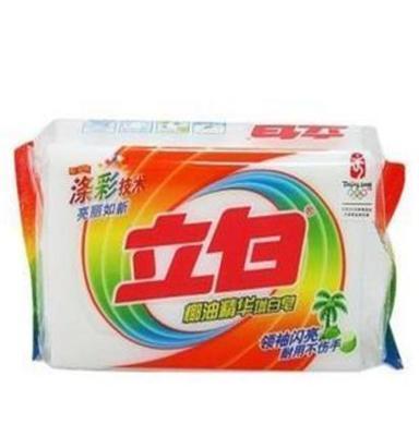 供应萧山立白透明皂232g批发报价