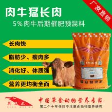 西门塔尔牛育肥专用饲料牛后期催肥饲料