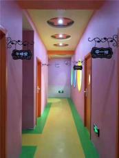 山東幼兒園早教中心專用PVC塑膠地板