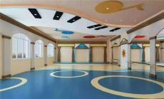 濟南幼兒園早教中心專用PVC塑膠地板