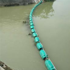 入海口拦截设施弧形拦污浮漂安装要求