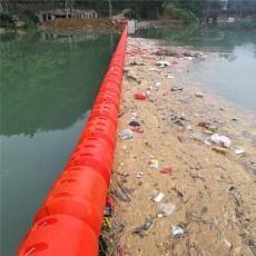 海漂垃圾拦截网浮漂浮式拦污排型号