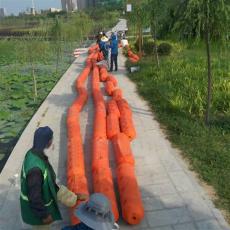 湘江拦垃圾浮筒上游拦漂排施工要求