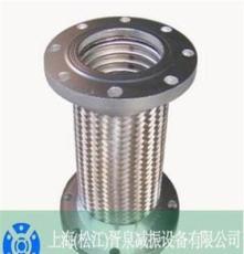 DN100不锈钢金属编织波纹软管、国标300L耐酸碱金属软管