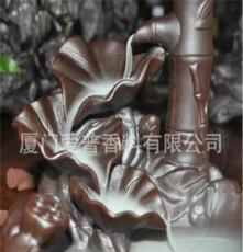流烟岁月 会逆流的烟 锥香香薰炉/香座 陶瓷熏香器具 细水长流