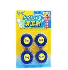 魅潔藍泡泡潔廁寶馬桶自動清潔劑(4枚裝)
