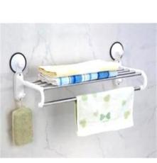 双庆吸盘卫浴挂钩浴巾架(1870) 家居装饰 创意生活
