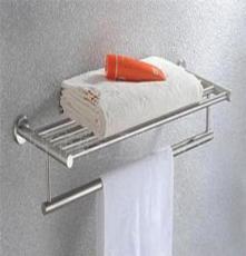 祥云衛浴浴供應室掛件3916雙層不銹鋼浴巾架