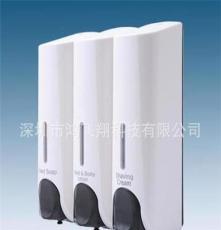 廠家直銷 三頭手動皂液器 350ML三頭皂液器 酒店專用皂液器