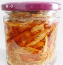 供應市場熱銷麻辣金針菇170克瓶不含防腐劑的時尚美食
