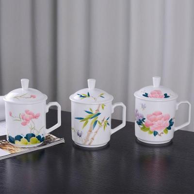 陶瓷茶杯厂家 礼品茶杯定制 陶瓷茶杯价格