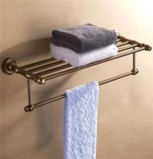 超值太空鋁拉絲仿古系列 浴巾架