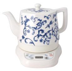 加运美陶瓷电热水壶智能单壶-八角兰花