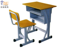学生课桌椅定制广州欧丽 学生课桌椅定制