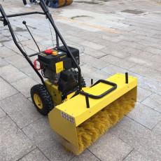 物业扫雪机 小型手扶式道路扫雪机