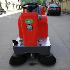 工业电动扫地机 驾驶式道路灰尘扫地车