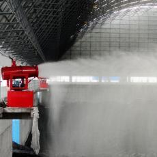 小型移动式雾炮机 工地除尘喷雾机