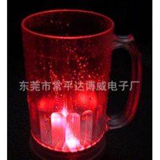 800ml发光啤酒杯,LED大发光杯,创意发光杯,礼品发光杯