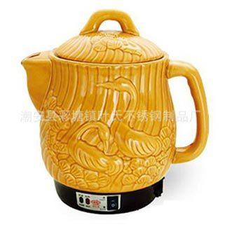 4L陶瓷电药锅-电药壶-陶瓷煎药锅-全自动药锅-保键壶-养生壶