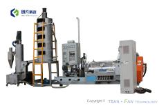 PTFE造粒機造粒設備具有全部物料循環利用