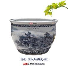 供应手绘高档陶瓷大缸