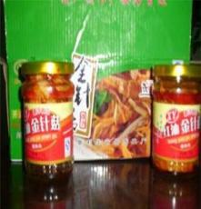 各类红油罐头金针菇 新鲜爽口