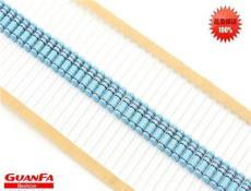 廠家直銷 插件電阻1/8W/1/4W/1/2W/1W/2W/3W5W金屬膜電阻