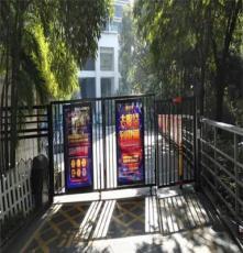 厂家人行通道闸小区刷脸刷卡广告门出入门禁管理