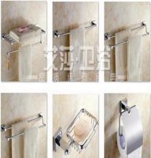 不銹鋼浴巾架置物架毛巾架單雙層桿品牌衛浴掛件浙江溫州廠家
