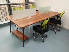 合肥钢架隔断桌 组合工位 四人位办公桌厂家