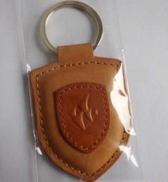 真皮鑰匙扣制作武漢皮具車標鑰匙扣設計定做