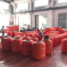 疏浚工程配套浮筒塑料管道浮體生產銷售