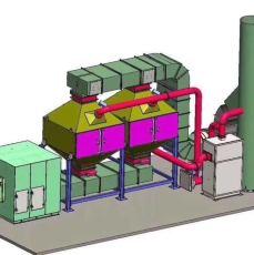催化燃燒廢氣處理設備可以處理哪些廢氣